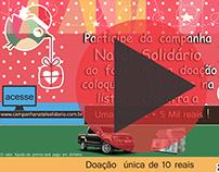 Vídeo e Banner Campanha Natal Solidário.