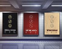 Clásicos eran los de antes - Sistema de afiches -