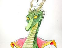 Dragón hechicero