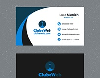 ClubeWeb business card