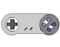 Render Cartoon: Control Super Nintendo