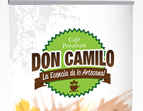 Pendón cafe Don Camilo