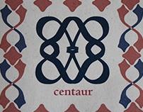Plegable Centaur typeface