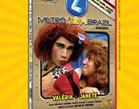 Anúncio DVD Valéria e Janete