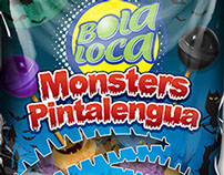 Bola Loca Monsters Pintalengua