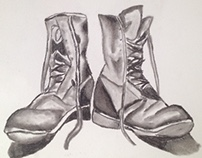 Boots in Charcoal