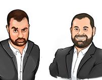 Rene Caricatures