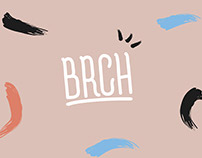 BRCH - backpack branding design -