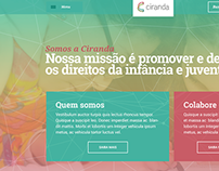 Redesign site - Ciranda