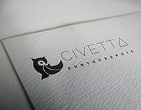 Identidade Visual Civetta Photographie