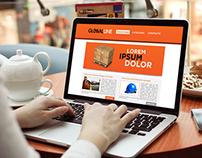 Sitio Web GobalLine
