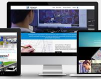 Website RYD Engenharia - Wordpress