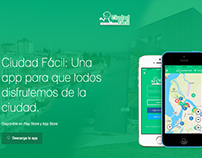 Landing Page Ciudad Fácil