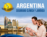 Diseño de Afiches - Destinos Global Surrogacy