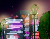 Purple City - Art concept