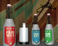 MILK BRAND FOR INDIE URBAN TRIBE