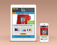 SCA Virtual Store - Logo Application - Web Design -