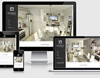Web para estudio de arquitectos / Arch. studio site.