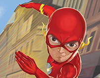 The Flash Cartoon Painting