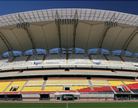 Cubierta Estadio Polideportivo de Pueblo Nuevo