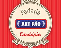 Cardápio Padaria