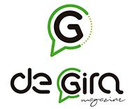 """LOGO PROYECTO """"DE GIRA MAGAZINE"""""""