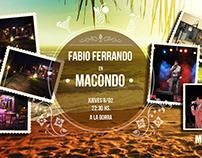 Evento Canto Macondo Bar