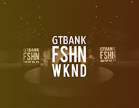 GTBank Fashion Weekend 2018 Projection Mapping