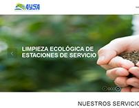 Página Web de AYSA