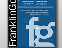 Franklin Gothic Poster Tipográfico
