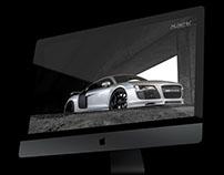 Audi r8 for imac 5k