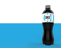 Envase - Gaseosa Cola DIEZ