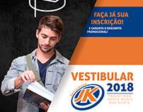 Faculdade JK - Vestibular.