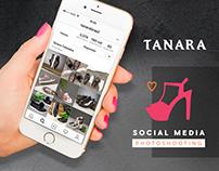 Tanara | Social Media Photoshooting