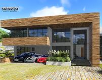 PNZN | P + Contemporary Luxury Home 350m2