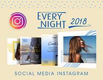 Every Night / Social Media kit Instagram 2018