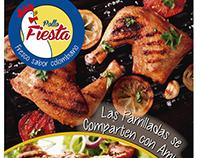 Pollo Fiesta Campaña Primer Trimestre - Concepto parril