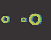 Circles animation in motio graphics