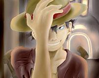 Luffy Fanart