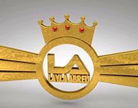 Logo 3d Layla Abreu