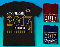 T-Shirt design for New Year