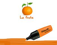 Marcador Pelikan Naranja
