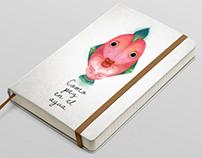 """Ilustración """"Como pez en el agua"""""""