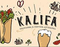 Branding / Kalifa, Shawarma & Craft Beer (2016)