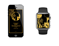 Pierrot: art game for apple watch