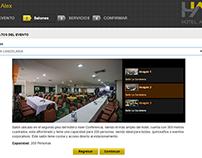 Reservaciones de Salones - Hotel Alex - Venezuela