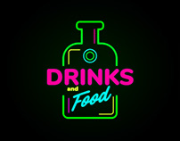 Logo Drinks and Food
