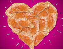 Dia dos Namorados Sushi Rão