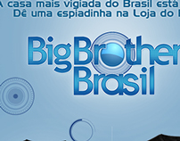 Email Promocional Big Brother Brasil 15