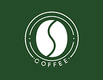 Logo fictícia Coffee